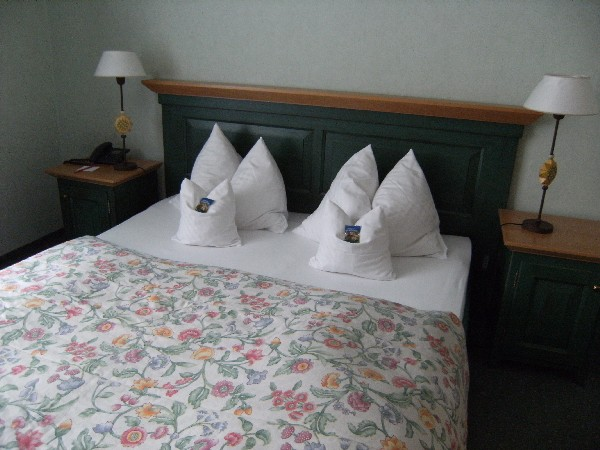 Pillows at Hotel Kräuterhof